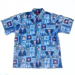 Reyn Spooner Disney Mickey Mouse Hawaiian Shirt